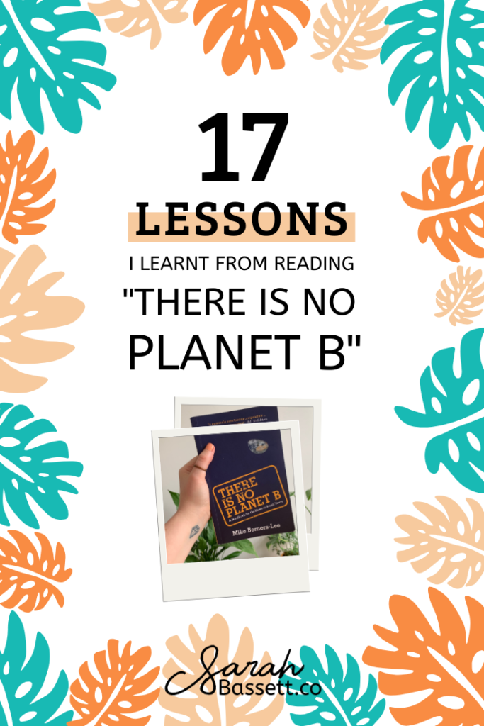 There Is No Planet B by Mike Berners-Lee  Learn to live a more sustainable lifestyle, fight global warming and focus on zero waste living with my summary on the climate change handbook.