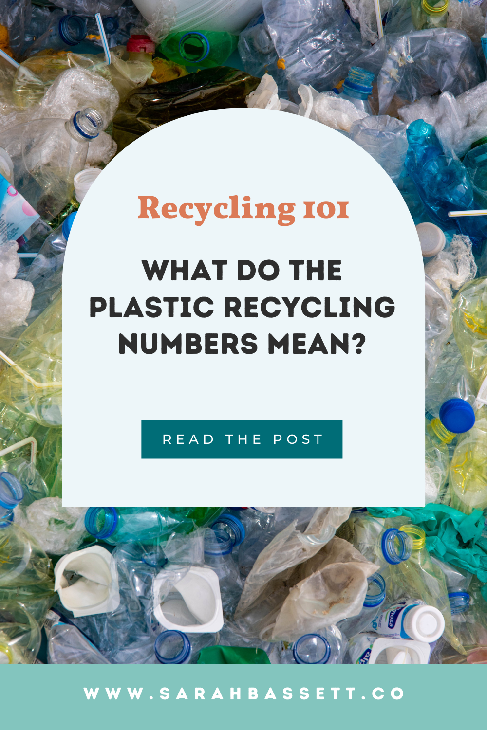Recycling plastic: what do the plastic recycling numbers mean?  Recycling plastic can be confusing. While less than 9% of all plastic has ever been recycled, it best to know which plastic can be recycled.   Placing the wrong type of plastic in recycling can lead to big problems at the processing center and jam recycling machines.