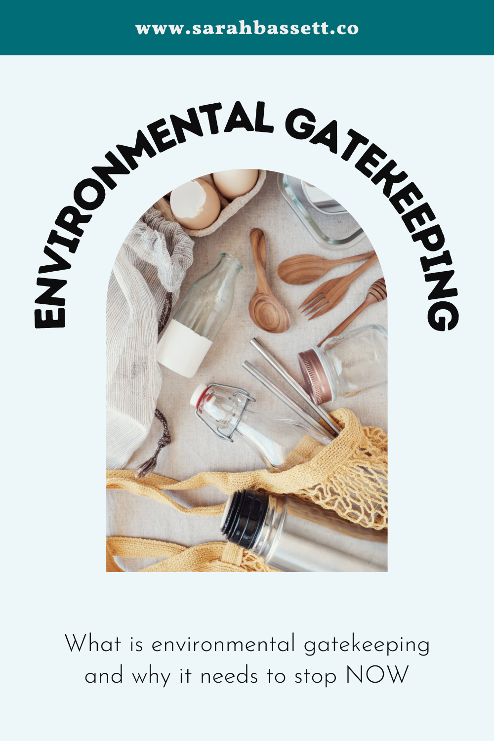 What is environmental gatekeeping and why it needs to stop.  Environmental gatekeeping is when individuals decide who is and isn't and environmentalist.   This can be through eco-shaming or a lack of inclusivity. Environmental gatekeeping will not help fight climate change or plastic pollution.