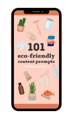 eco-friendly content prompts