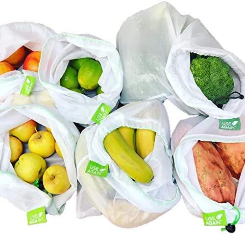 Reusable produce bags zero waste products - sarah bassett