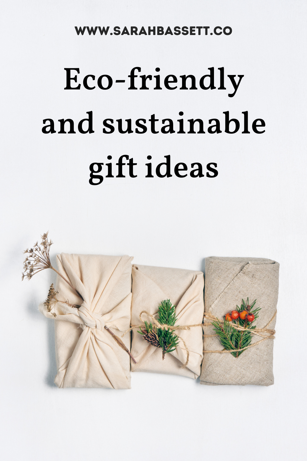 Sustainable gifts guide for zero waste, eco-friendly, plastic-free and environmentally-friendly gifts